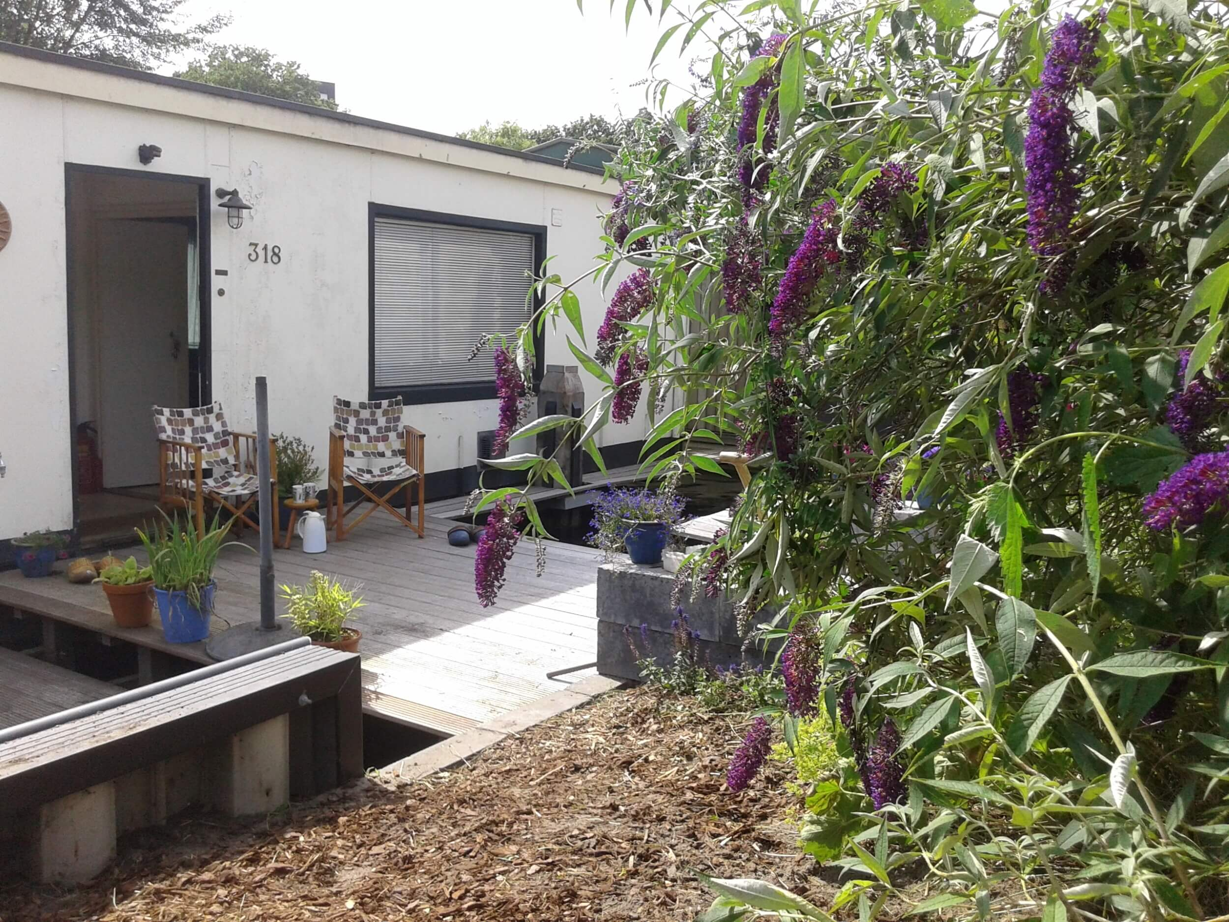 De Tuin - Houseboat Harmony - Bed & Breakfast Utrecht (4)